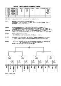 令和3年日本少年野球連盟静岡県支部長杯のサムネイル